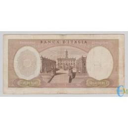 Italia - 10000 Lire Michelangelo 20.05.1966 retro