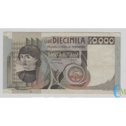 Italia - 10000 Lire Ritratto d'uomo Castagno 03.11.1982