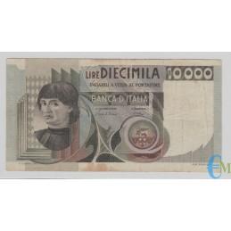 Italia - 10000 Lire Ritratto d'uomo Castagno 06.09.1980 bb