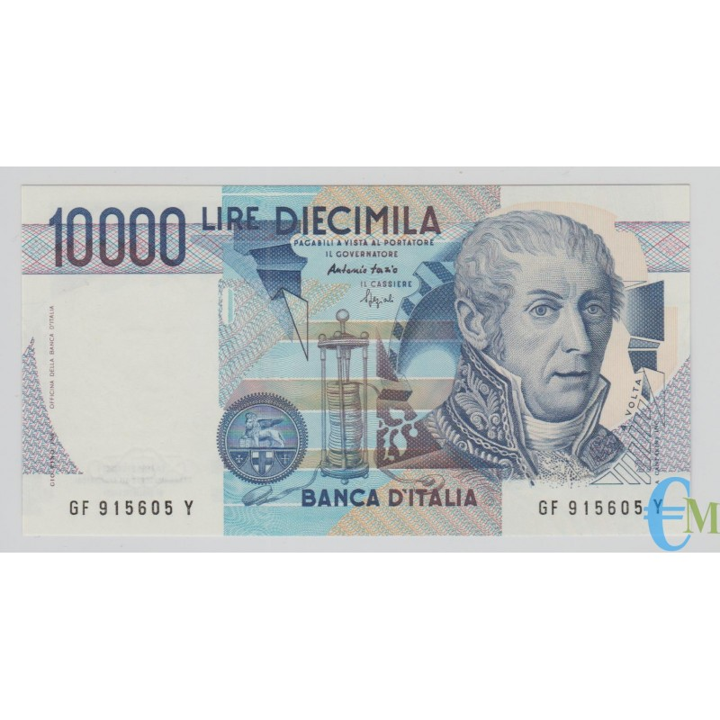 Italia - 10000 Lire Alessandro Volta F 26.04.1994