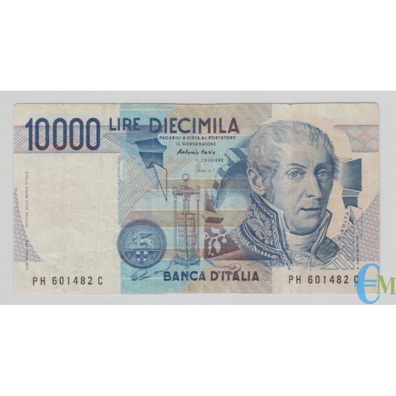 Italia - 10000 Lire Alessandro Volta H 17.12.1997 bb