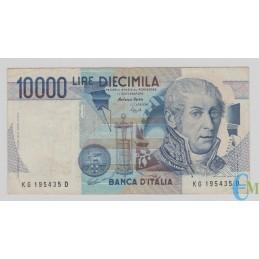Italia - 10000 Lire Alessandro Volta G 16.10.1995 bb