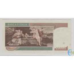 Italia - 20000 Lire Tiziano 21.02.1975 bb rovescio