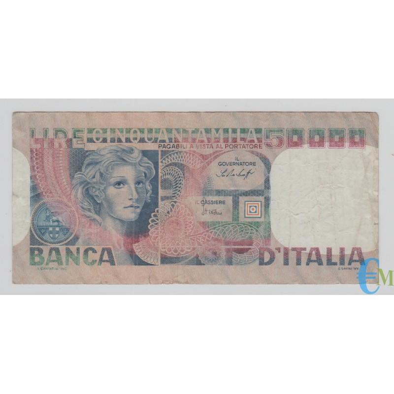 Italia - 50000 Lire volto di Donna 23.10.1978