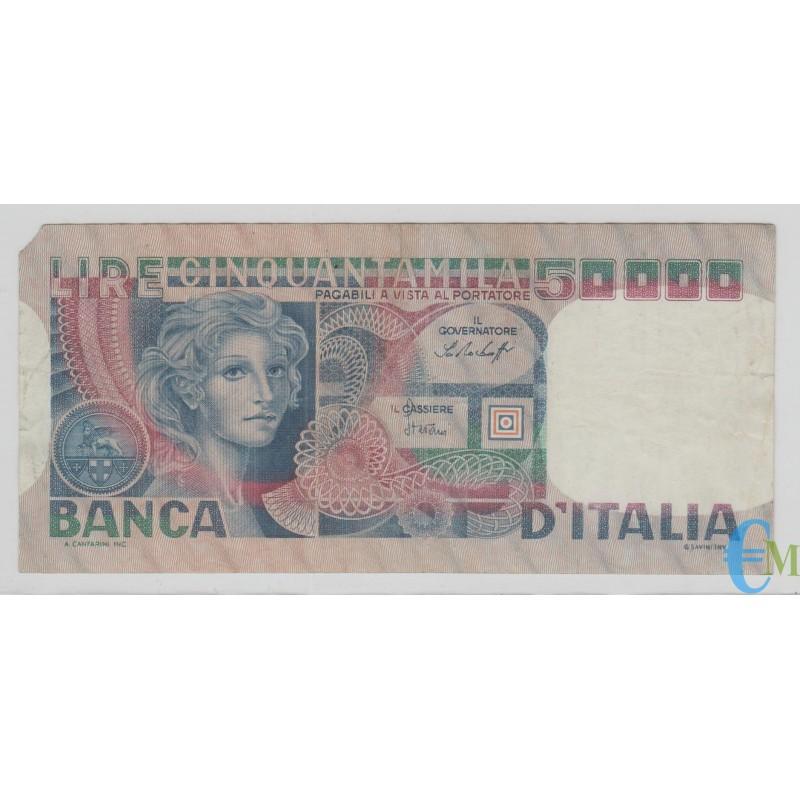 Italia - 50000 Lire volto di Donna 20.06.1977