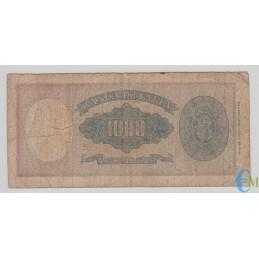 Italia - 1000 Lire Italia Ornata di Perle Testina 20.03.1947 rovescio