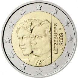 Luxemburgo 2009 - 2 euros conmemorativos del 90 aniversario de la adhesión al trono de la Gran Duquesa Carlota