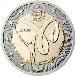 Portugal 2009 - 2 euro 2nd Lusophony Games