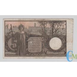 Italia - 5 Lire Biglietto di Stato Vittorio Emanuele III 05.11.1914 rovescio
