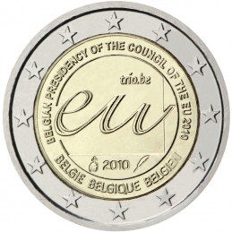 Bélgica 2010 - 2 euros Presidencia belga del Consejo de Europa de la UE