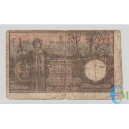 Italia - 5 Lire Biglietto di Stato Vittorio Emanuele III 08.11.1904 rovescio