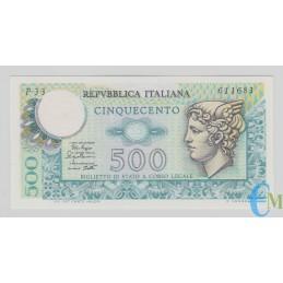 Italia - 500 Lire Biglietto di Stato Mercurio 02.04.1979
