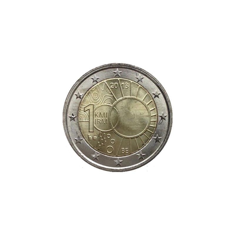 Belgio 2013 - 2 euro commemorativo 100° anniversario dell'istituto di Meteorologia Reale.