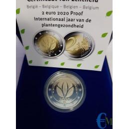Belgio 2020 - 2 euro Proof Salute delle Piante 2