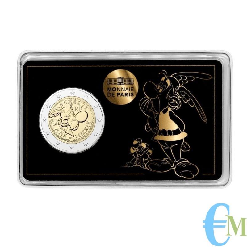 Francia 2019 - 2 euro commemorativo 60° anniversario di Asterix in coincard con Asterix e Idefix