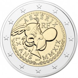 Francia 2019 - 2 euro commemorativo 60° anniversario di Asterix.