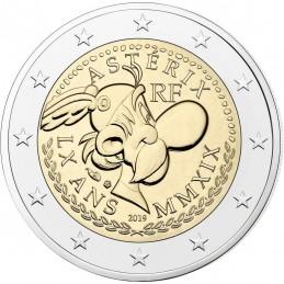 Francia 2019 - 2 euro commemorativo 60° anniversario di Asterix BU in coincard con Asterix e Obelix moneta