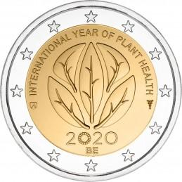 Belgio 2020 - 2 euro commemorativo anno internazionele della salute delle piante.