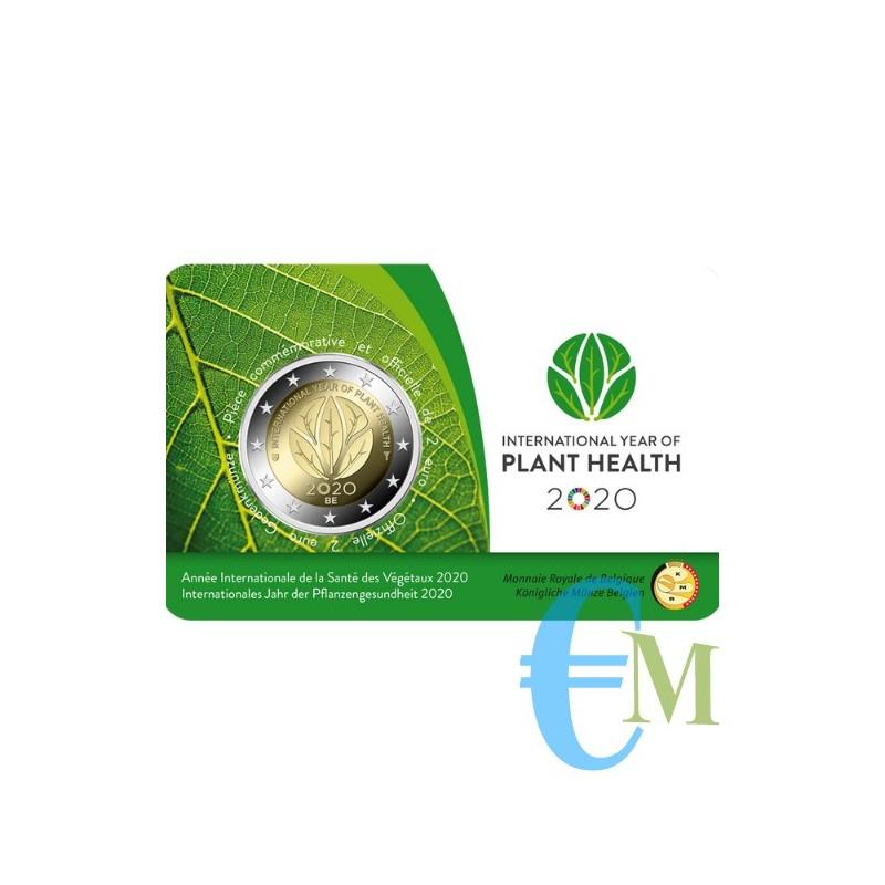 Belgio 2020 - 2 euro commemorativo anno internazionele della salute delle piante. Francese