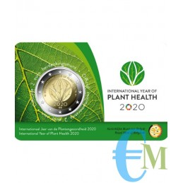 Belgio 2020 - 2 euro commemorativo anno internazionele della salute delle piante. Olandese
