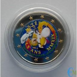 Francia 2019 - 2 euro colorato 60° Asterix