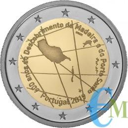 Portogallo 2019 - 2 euro commemorativo 600° anniversario della scoperta dell'isola di Madeira