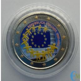 copy of Italia 2015 - 2 euro 30° Bandiera Europea