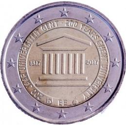 Belgio 2017 - 2 euro commemorativo 200° anniversario dell'Università di Gand.