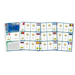Fogli aggiornamento 2 € Commemorativi 2015 Bandiera Europea
