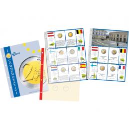 Fogli aggiornamento 2 € Commemorativi 2007 50° trattati di Roma