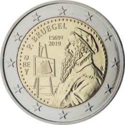 Belgio 2019 - 2 euro commemorativo 450° anniversario della morte di Pieter Bruegel il Vecchio