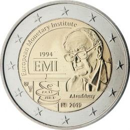 Belgio 2019 - 2 euro commemorativo 25° anniversario dell'istituto monetario europeo