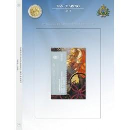 Foglio per 2 € Commemorativo San Marino 2018 Tintoretto