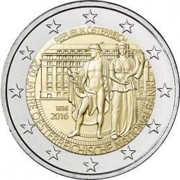 Austria 2016 - 2 euro commemorativo 200° anniversario della Banca Nazionale Austriaca