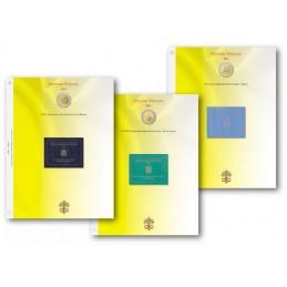 Blocco fogli 2 € Commemorativo Vaticano dal 2004 al 2014