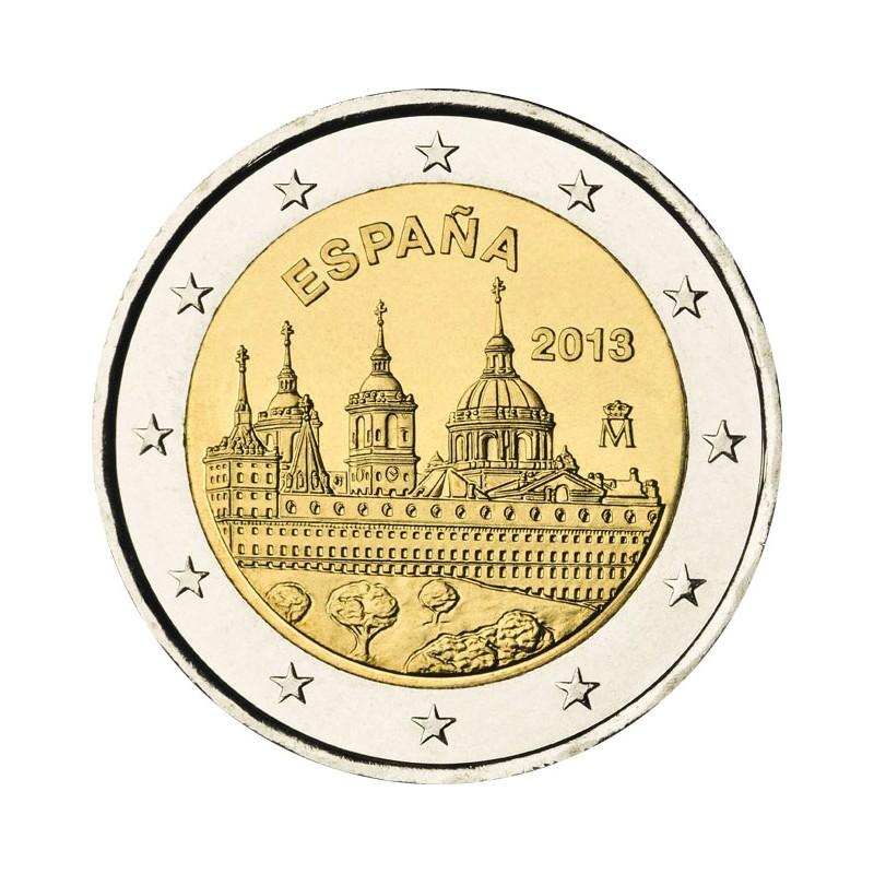 Spagna 2013 - 2 euro monastero dell'Escorial