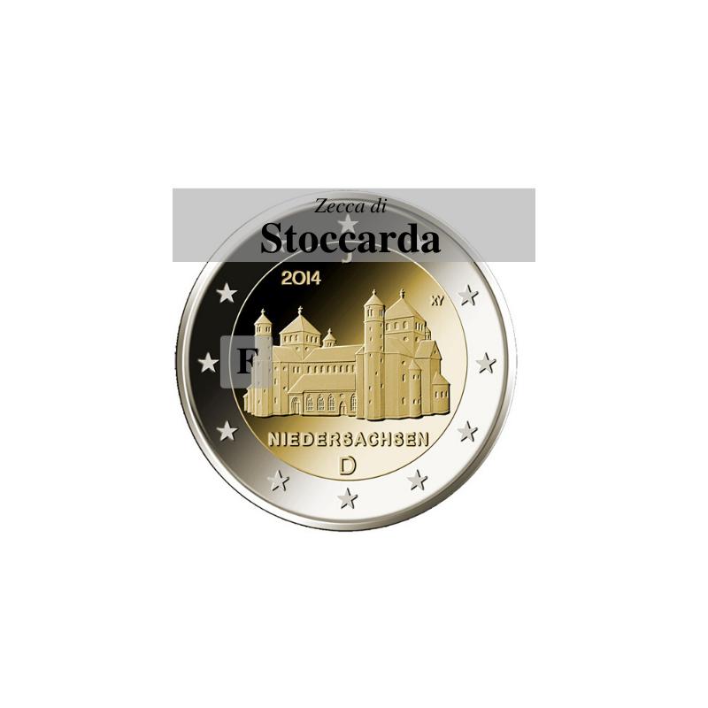 Germania 2014 - 2 euro San Michele - zecca F