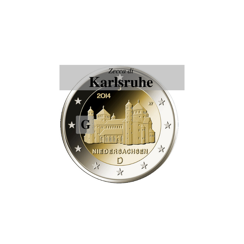 Germania 2014 - 2 euro San Michele - zecca G