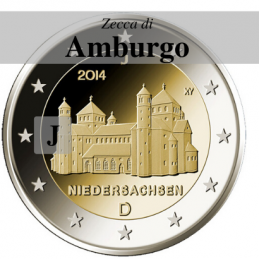 Germania 2014 - 2 euro San Michele - zecca J