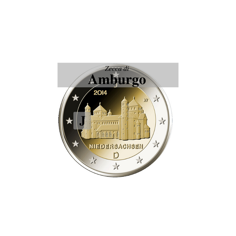 Germania 2014 - 2 euro San Michele - zecca J