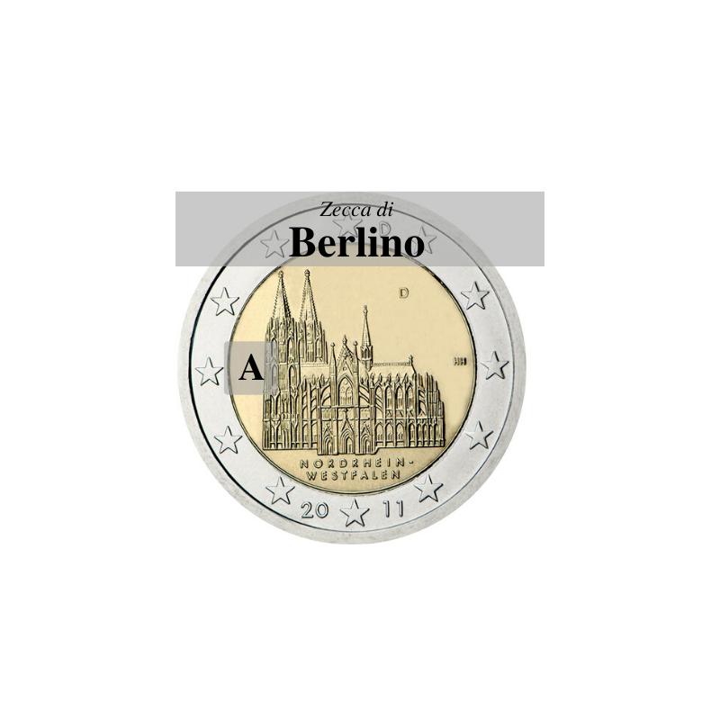 Germania 2011 - 2 euro Colonia - zecca A