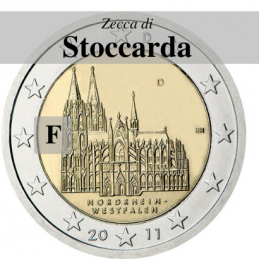 Germania 2011 - 2 euro Colonia - zecca F