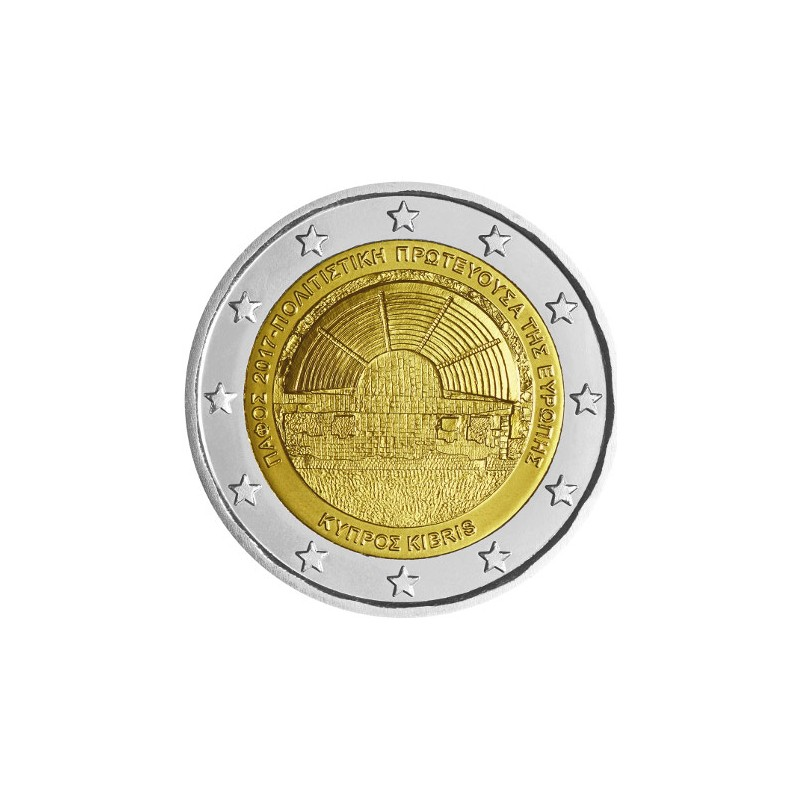 Cipro 2017 - 2 euro commemorativo capitale europea della cultura 2017