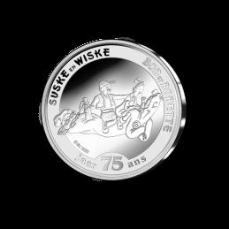 Belgio 2020 - 5 euro 75 anni  Suske en Wiske BU in coincard moneta