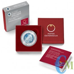Austria 2020 - 25 euro Intelligenza artificiale confezione