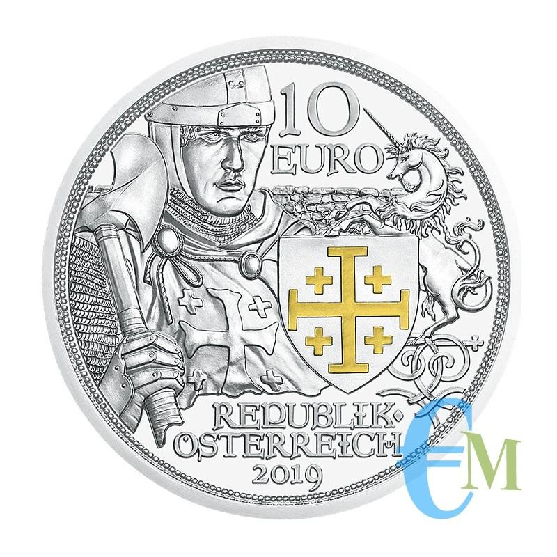 Austria 2019 - 10 euro Avventura in Argento