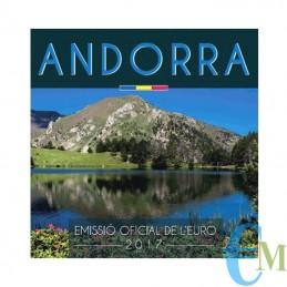 Andorra 2017 - Divisionale Euro Ufficiale - 8 valori