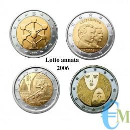 Lotto annata 2006 - 2 euro commemorativi