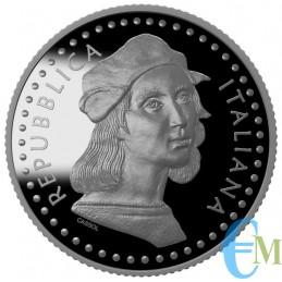 5 euro 500° Anniversario della morte di Raffaello Sanzio diritto