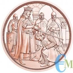 Austria 2019 - 10 euro Cavalieri Templari ''Avventura'' rovescio